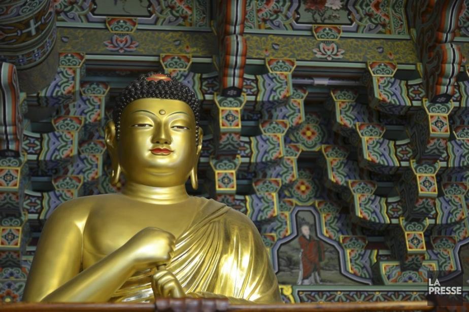 Séjour au temple de Haeinsa. (Photo Violaine Ballivy, La Presse)