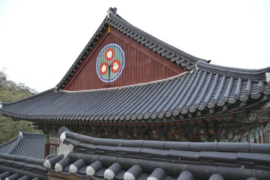 Le temple de Haeinsa. (Photo Violaine Ballivy, La Presse)