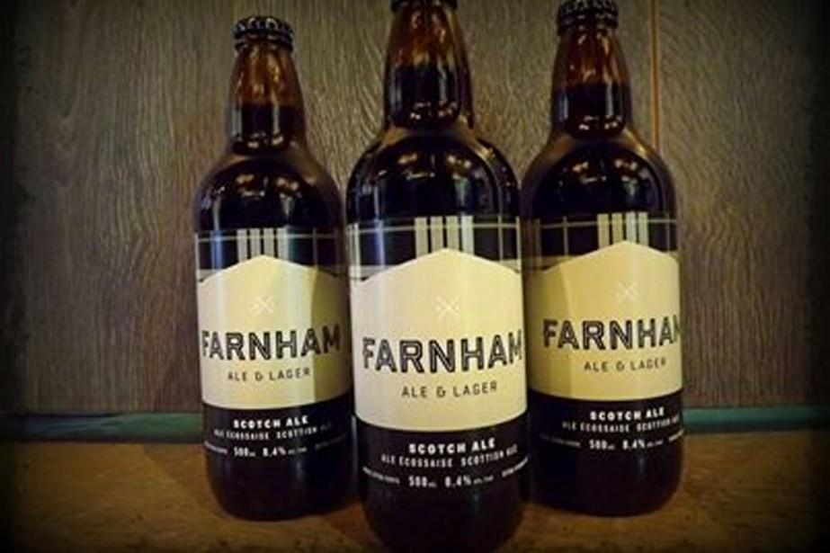 Il y a à peine un an, la microbrasserie Farnham ale... (Photo tirée de Facebook)