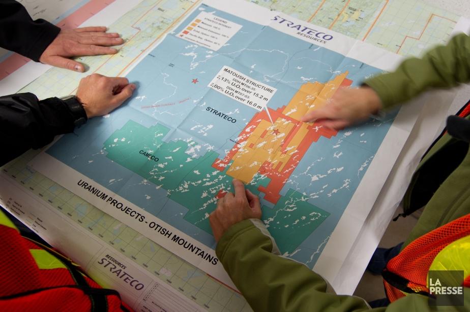 Le projet Matoush de Straeco.... (Photo Hugo-Sébastien Aubert, archives La Presse)