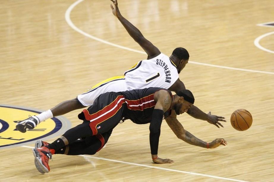 LeBron Jamesest engagé depuis le début de la... (Photo USA TODAY Sports)