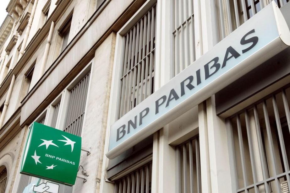 Washington accuse BNP Paribas d'avoir contourné entre 2002... (PHOTO ERIC PIERMONT, ARCHIVES AFP)