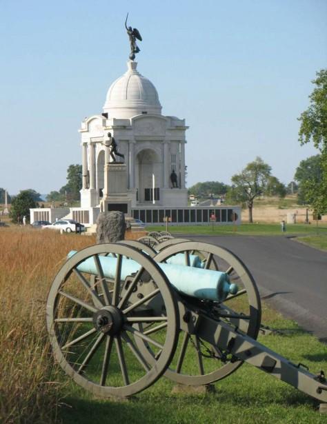 Le champ de bataille de Gettysburg est devenu un parc national que l'on peut visiter de trois façons: avec un guide, en bus ou en voiture, avec un guide sur CD. (Photo fournie par Destination Gettysburg)
