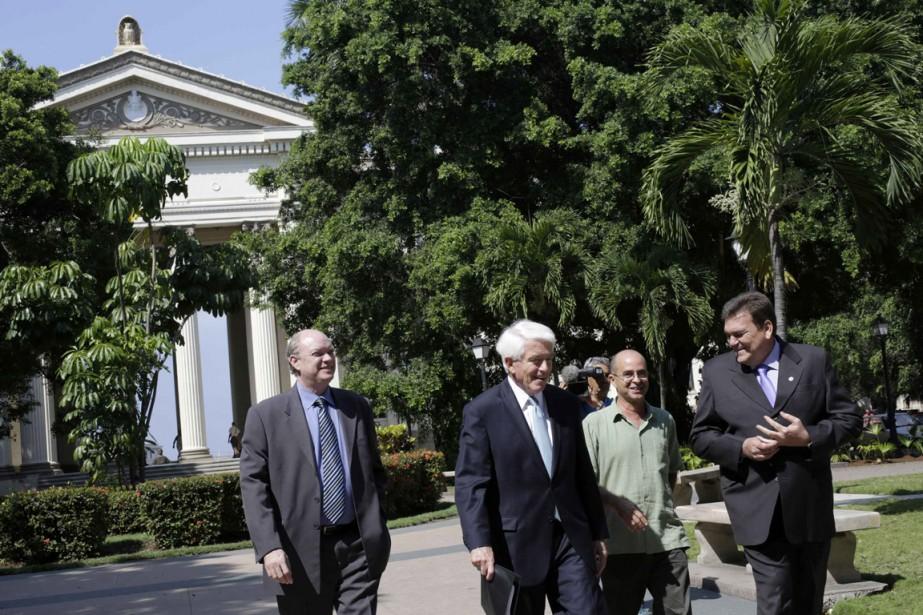 Le président de la Chambre de commerceThomas Donohue,... (Photo Enrique De La Osa, Reuters)