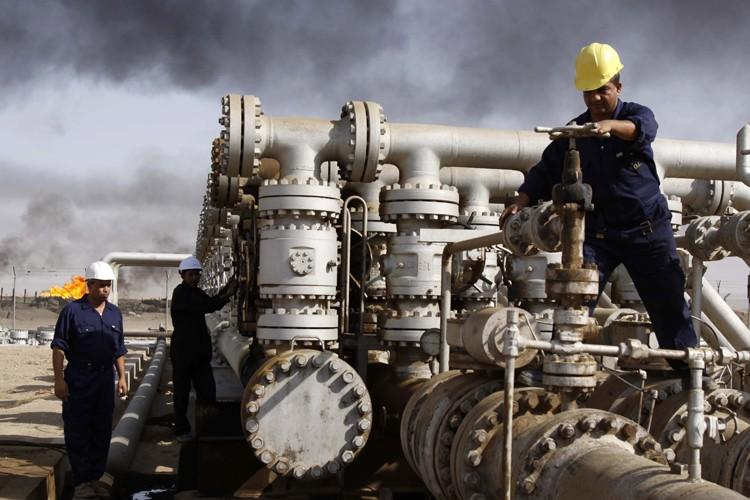 Les exportations de pétrole irakien ont progressé en mai pour le... (Photo: AP)