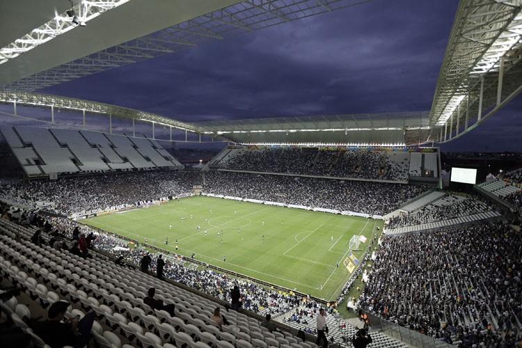Le match de Championnat du Brésil entre le... (Photo: AP)