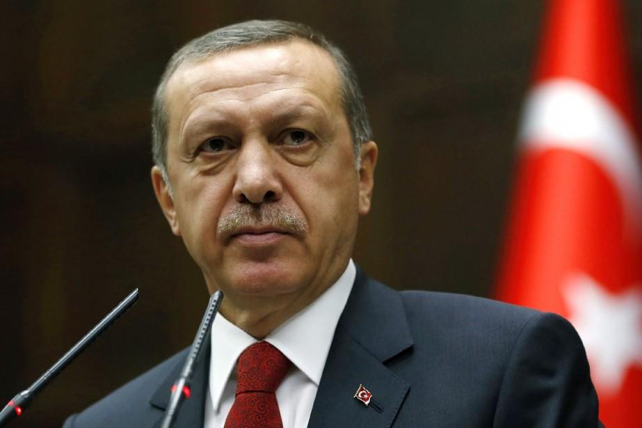 Le premier ministre turc, Recep Tayyip Erdogan, a... (PHOTO UMIT BEKTAS, ARCHIVES REUTERS)