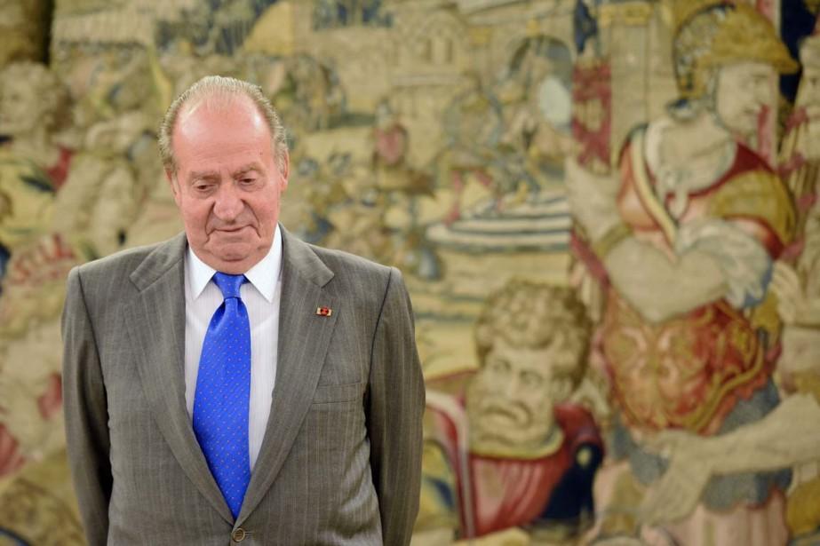 Grande figure de la démocratie espagnole, le roi... (PHOTO GERARD JULIEN, ARCHIVES AFP)