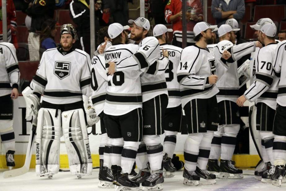 Les Kings ont accédé à la finale de... (PHOTO NAM Y. HUH, AP)