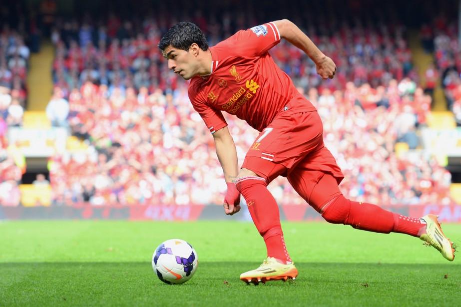 Luis Suarez... (Photo Andrew Yates, AFP)