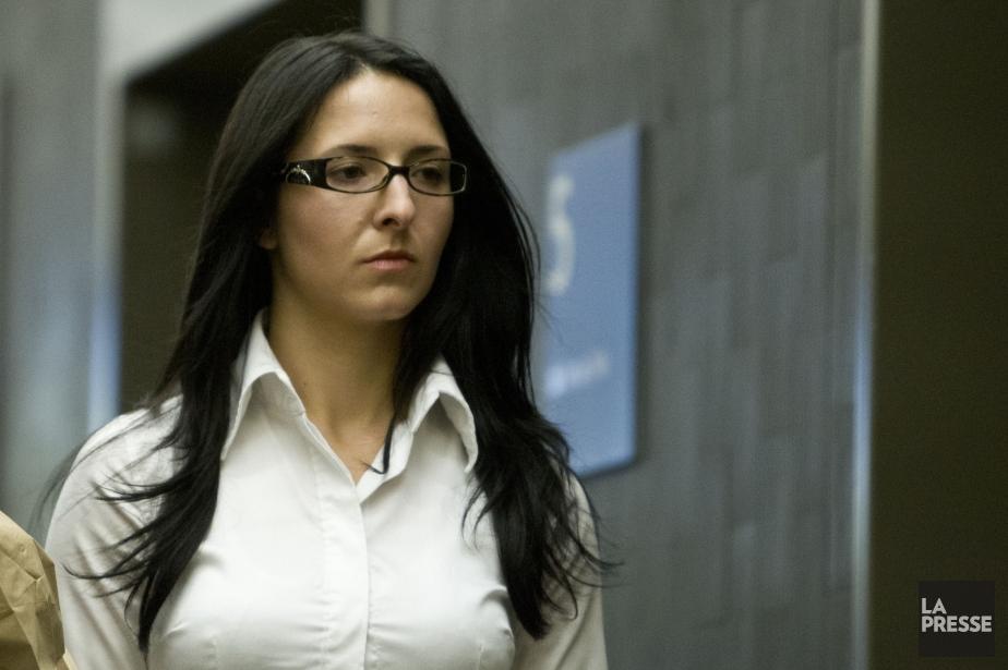 L'accusée Emma Czornobaj... (PHOTO OLIVIER JEAN, LA PRESSE)
