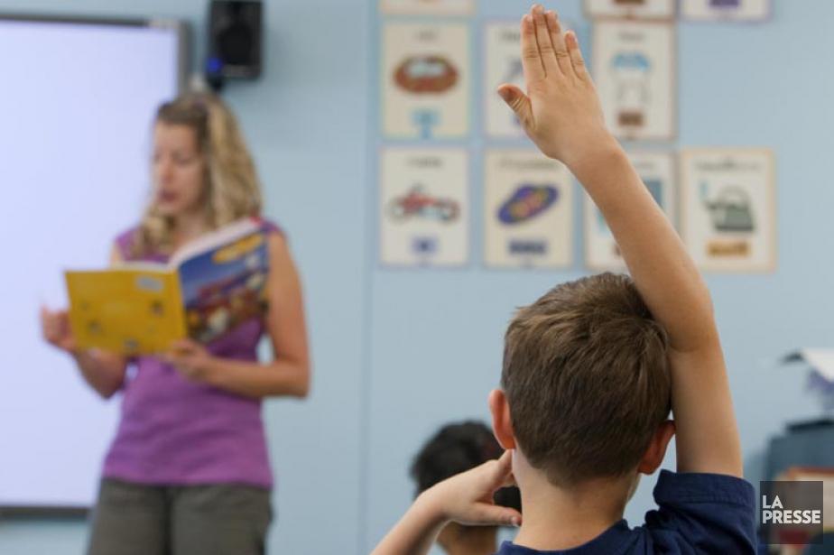 Dans quelles écoles primaires... (PHOTO ALAIN ROBERGE, ARCHIVES LA PRESSE)