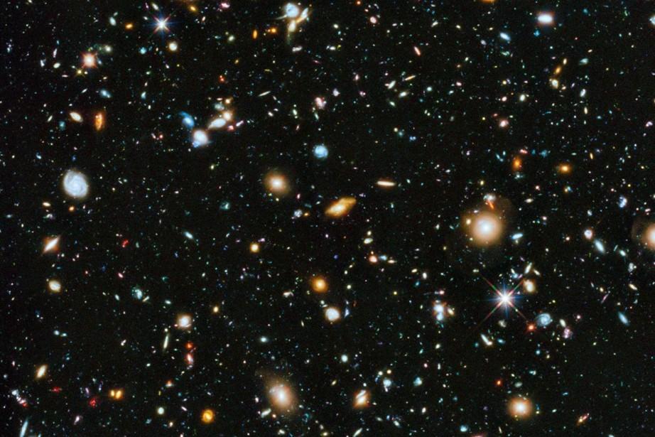 L'image panoramique est composée de plus de 800... (Photo The Associated Press/NASA)