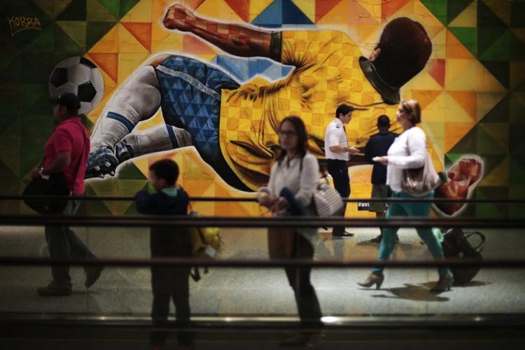 Le Brésil doit recevoir 600 000 touristes étrangers... (Photo: Reuters)