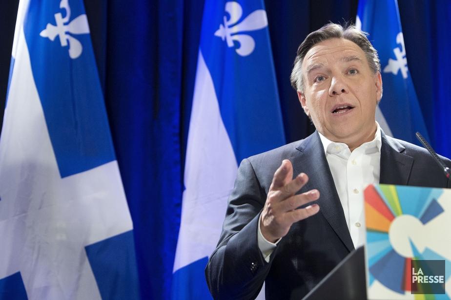 François Legault, chef de la CAQ, estime que... (Photo Robert Skinner, archives La Presse)
