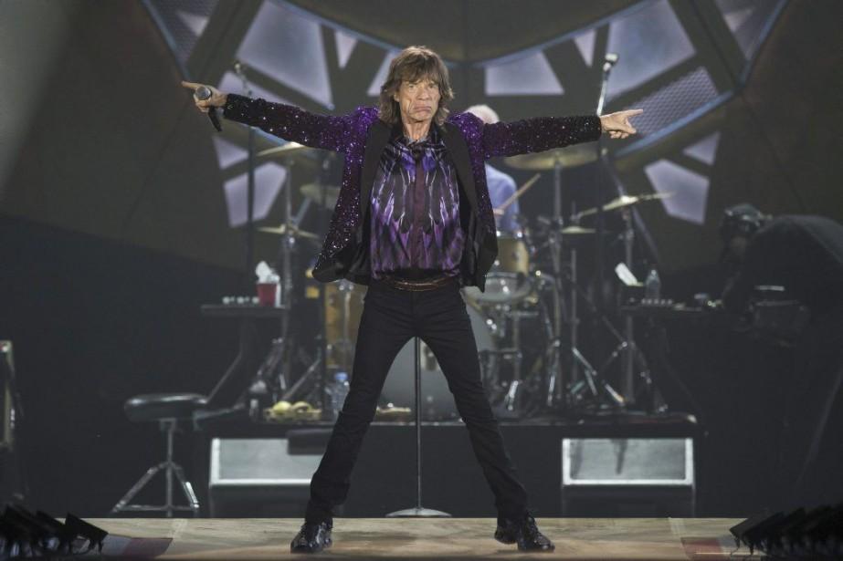 Mick Jagger en spectacle à Tel-Aviv.... (Photo: AFP)