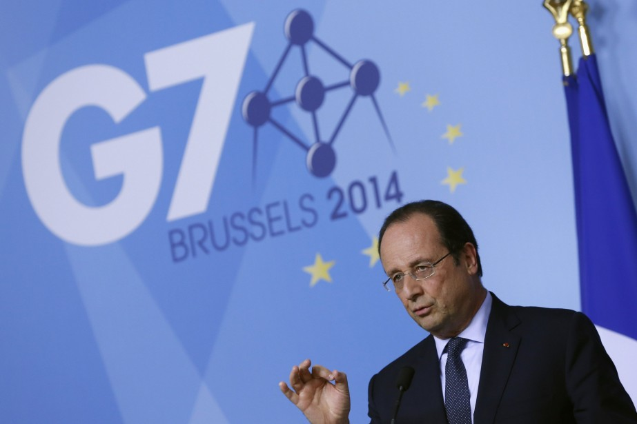 François Hollande a précisé les «conditions» fixées à... (PHOTO YVES HERMAN, REUTERS)