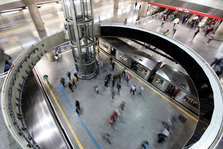 La direction du métro a indiqué qu'elle était... (Photo: Reuters)