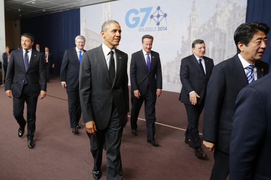 «La crise en Ukraine montre clairement que la... (PHOTO CHARLES DHARAPAK, AP)