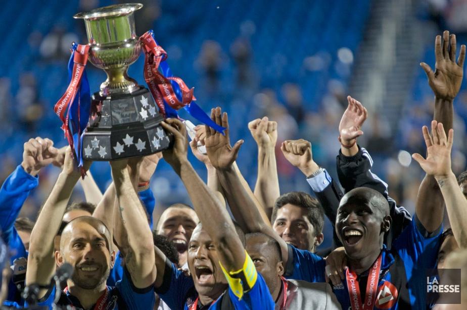 L'Impact a conservé son titre de champion canadien,... (Photo Olivier Jean, La Presse)