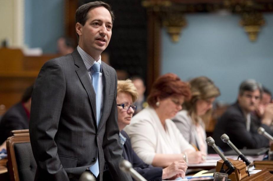 Le chef intérimaire péquiste,Stéphane Bédard... (Photo La Presse Canadienne)