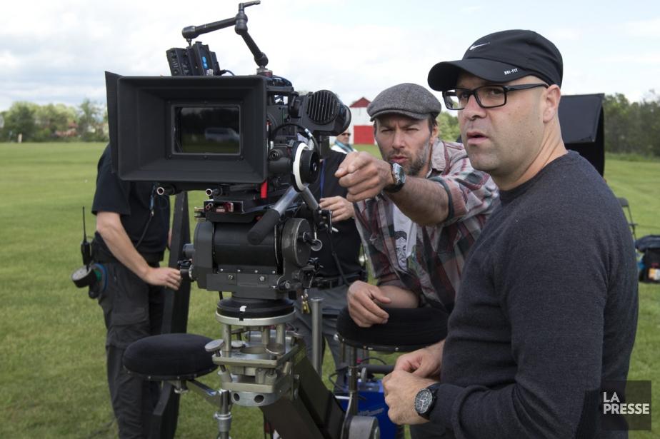 Le tournage du film 1987, de Ricardo Trogi,... (Photo: Robert Skinner, archives La Presse)