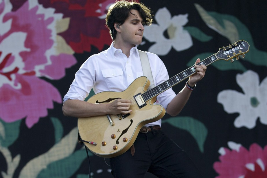 Ezra Koenig, chanteur de Vampire Weekend, l'une des... (Photo: AFP)