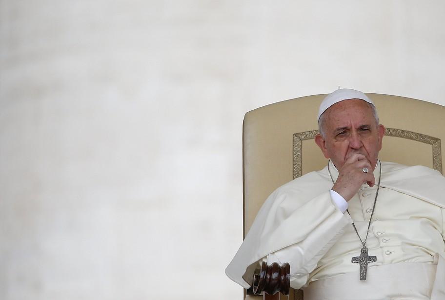 Lors de sa visite en Terre sainte, François... (Photo Tony Gentile, Reuters)