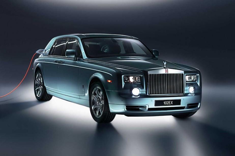 Le prototype Rolls-Royce 102EX avait été présenté par... (Photo fournie par Rolls-Royce)