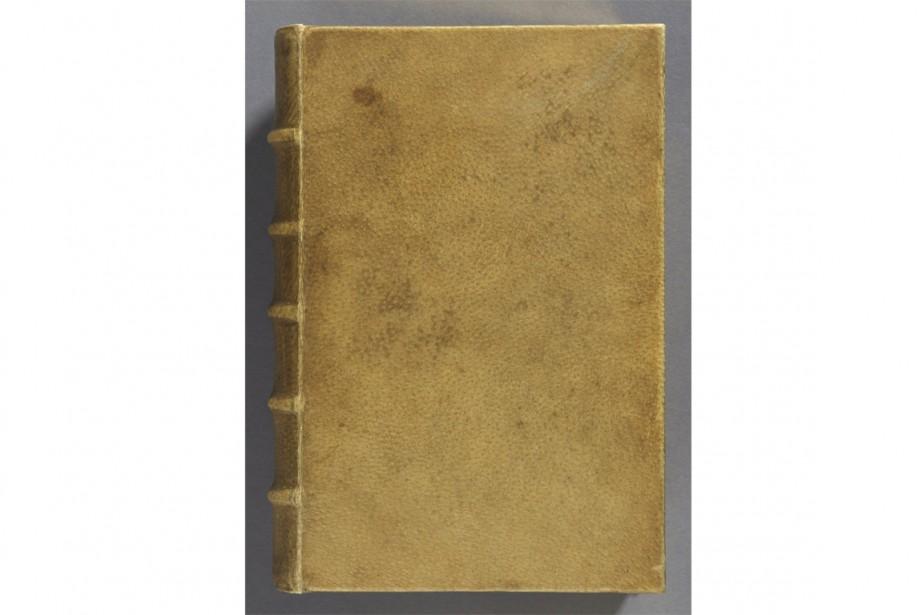 Un Livre Relie Avec De La Peau Humaine