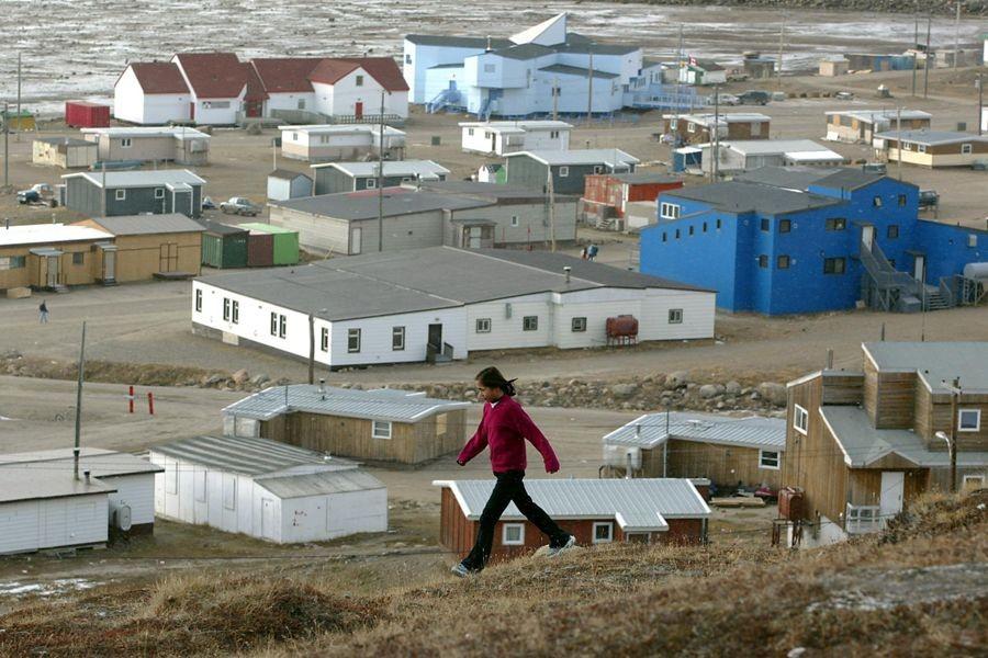 Iqaluit, au Nunavut.... (Photo Archives PC)