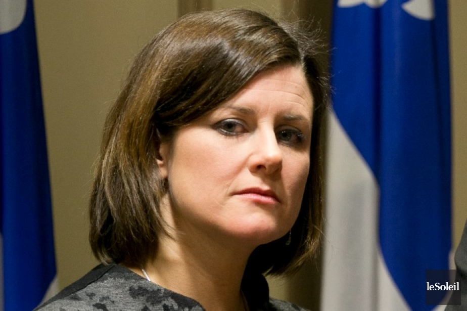 La ministre de la Justice, Stéphanie Vallée... (Photothèque Le Soleil)