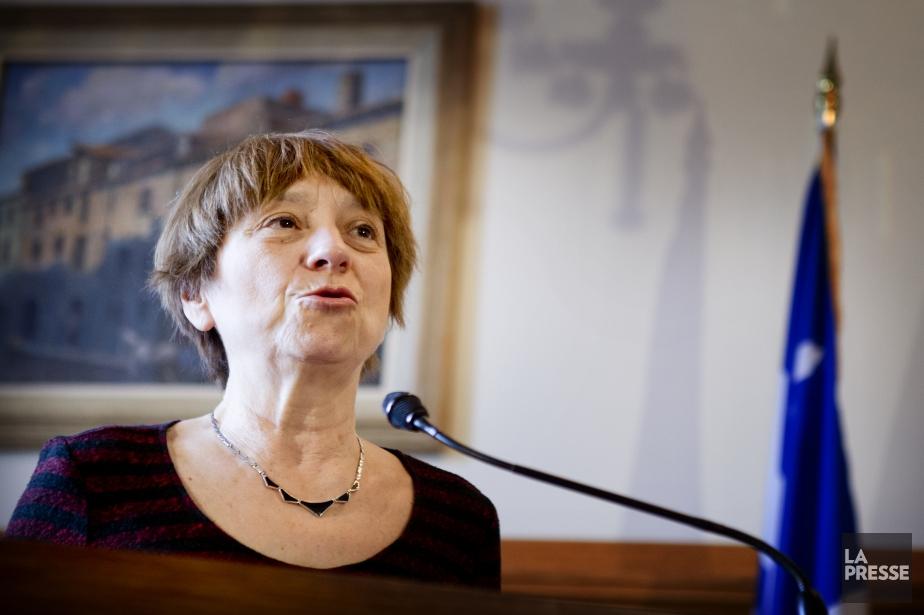 La porte-parole parlementaire de Québec solidaire, Françoise David... (PHOTO MARCO CAMPANOZZI, LA PRESSE)