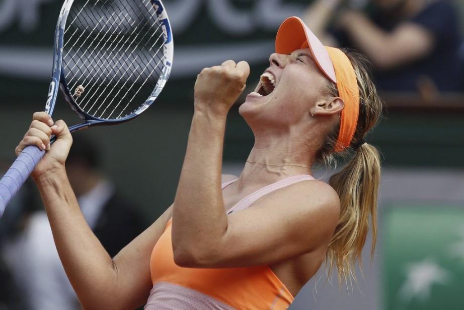 Maria Sharapova... (PATRICK KOVARIK, AFP)