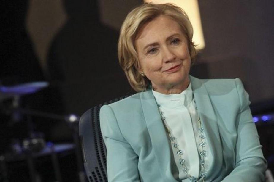 Dans son livre,Hilary Clinton soutient qu'elle n'a encore... (Photo d'archives AFP)