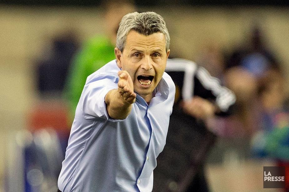 L'entraîneur de l'Impact, Frank Klopas.... (Photo d'archives, La Presse)