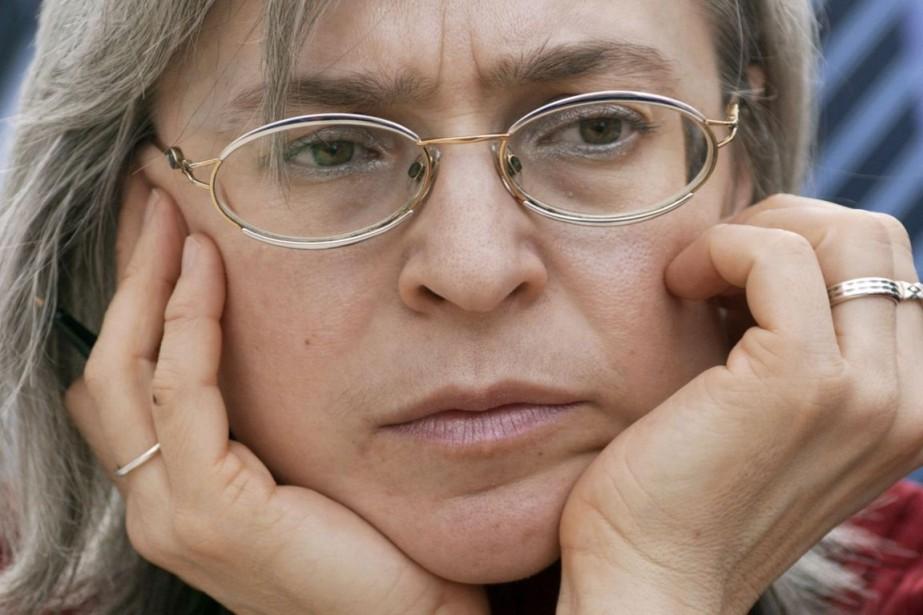 Anna Politkovskaïa, tuée le 7 octobre 2006 dans... (PHOTO JENS SCHLUETER, ARCHIVES AFP/DDP)