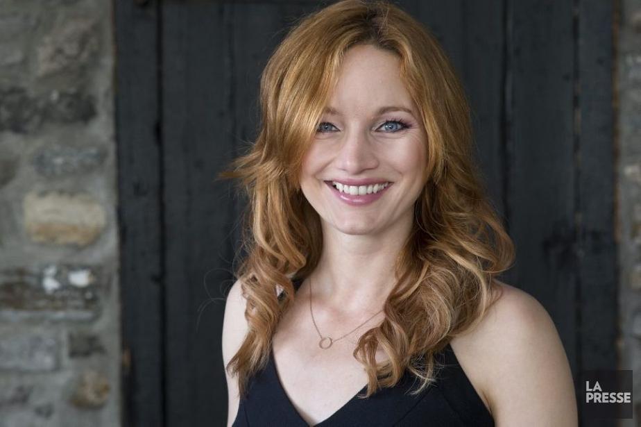 Laurence Leboeuf incarne Julie Arseneau dans La petite... (Photo: Robert Skinner, La Presse)