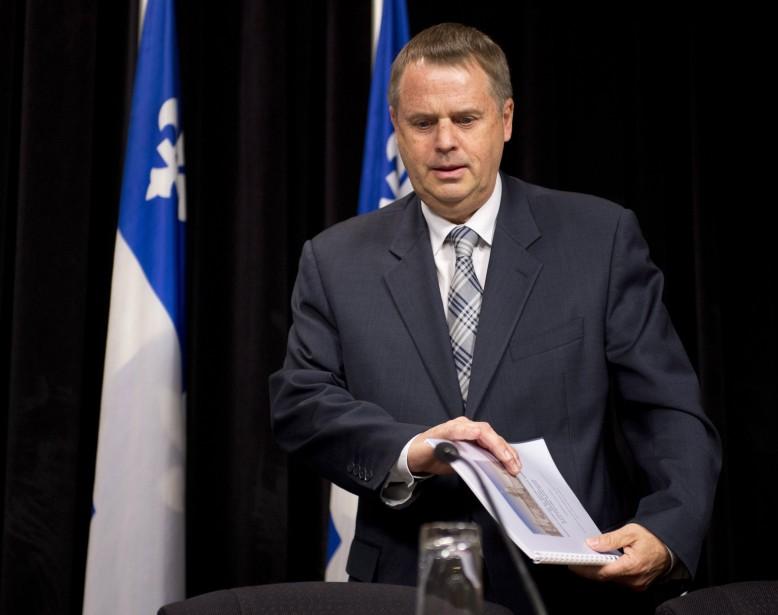 Michel Samson, le Vérificateur général par intérim.... (Photo Jacques Boissinot, La Presse Canadienne)