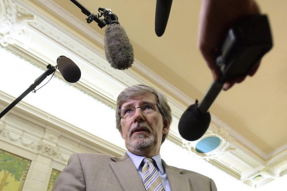 Daniel Therrien... (Photo Sean Kilpatrick, La Presse Canadienne)