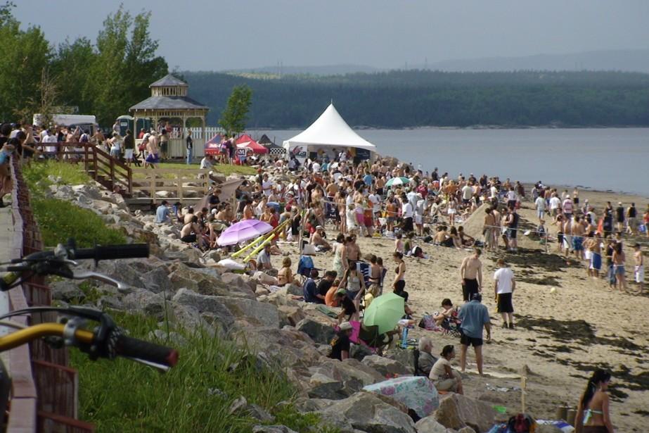 Au total, ce sont 30 km de plages... (Photo Martine Salomon, fournie par Corporation de développement touristique de la Péninsule Manicouagan)