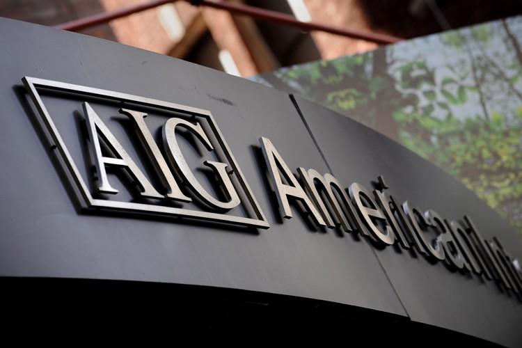 L'assureur américain AIG, sauvé de la faillite par l'État fédéral... (Photo: AFP)