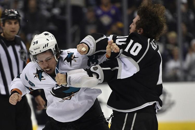 Logan Couture s'est blessé dans un combat face... (Photo: Reuters)