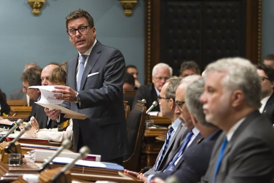 Le projet de loi sur les régimes de... (Photo Clément Allard, La Presse Canadienne)