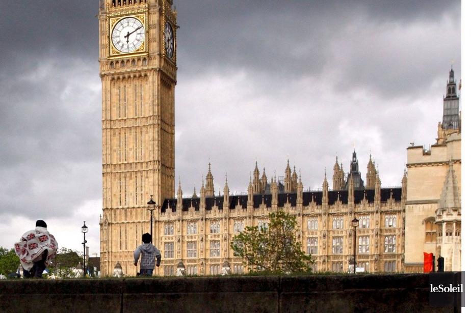 Les habitants de Londres, seule ville du pays... (Photothèque Le Soleil)