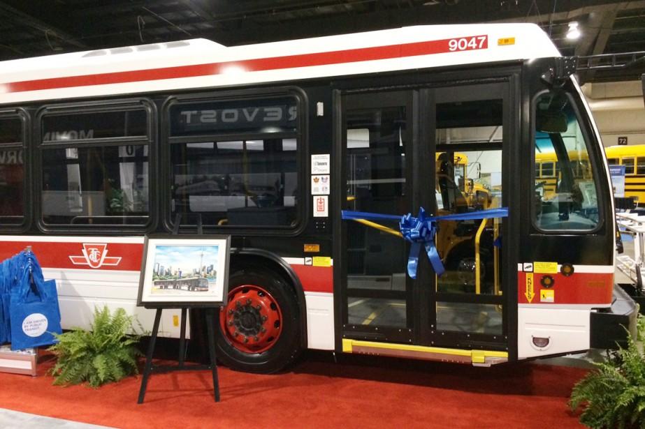 Le contrat de Nova Bus avec laCommission des... (Photo fournie par Nova Bus)
