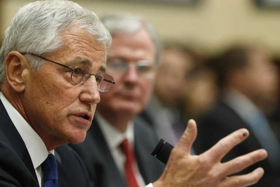Le chef du Pentagone Chuck Hagel.... (PHOTO JONATHAN ERNST, REUTERS)