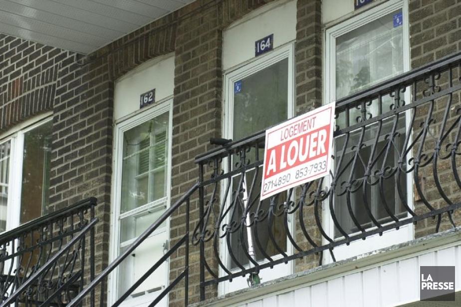 Le loyer moyen des appartements de deux chambres... (Photo Alain Roberge, Archives La Presse)