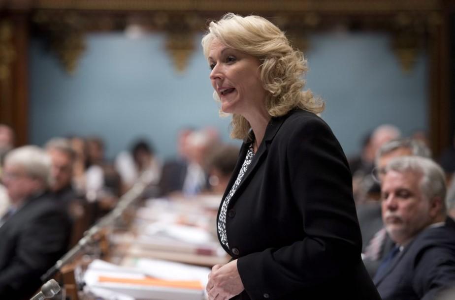 Lise Thériault... (Photo Jacques Boissinot, La Presse Canadienne)