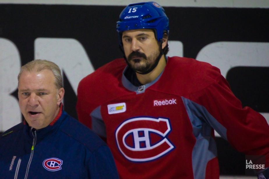 Un divorce entre le Canadien et George Parros... (Photo André Pichette, La Presse)